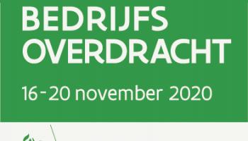 Week van de bedrijfsoverdracht 16 t/m 20 november: Online infosessies